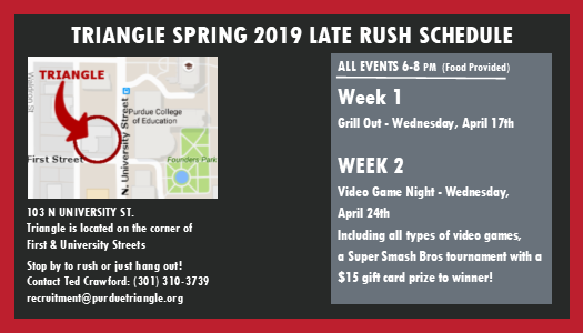 Late Spring Rush Card 2019